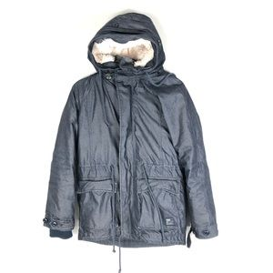 TNA Griffith Parka 3 in 1 Jacket Navy Blue XS